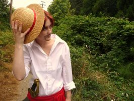 Shanks cosplay by shakespearemelody