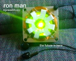 iron man XpressMusic by TheWallProducciones