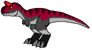 Minor-Miners Carnotaurus by DinoWrassler620
