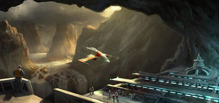 Cavern Base Flight Deck by Gaius31duke