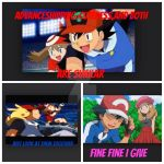 Amourshipping vs Advanceshipping by Crazyhairedgurl