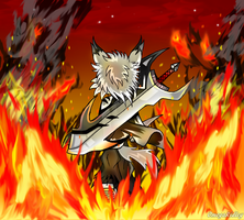 - Through the Flames - by TheOmegaRidley