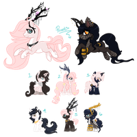 [CLOSED] Special Personal Breeding Adopt Auction by EventidePonies