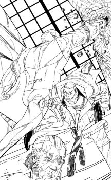 Brawl Lineart by DeathriS