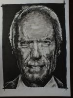 Clint Eastwood by przemus