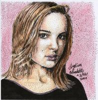 Natalie Pointillism colours by AngelinaBenedetti