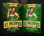 Free Saint Patricks Free Flyer Template by imagingdc