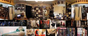 :: 360 view of the Nerd Cave/Art Studio :: by warui-shoujo