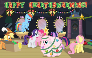 MLP - Merry Flufflepuff! by shadesmaclean