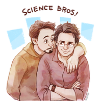 Science Bros! by Hallpen
