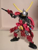 Red Samurai by CaptainCoolYo