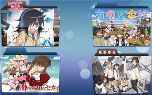 Summer 2013 Anime Folder Icons by julioissk84life