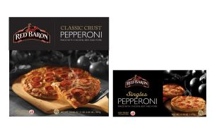 Red Baron Pizza by mandysmedley