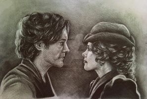 Sherlock and Irene (finished) by Spring-Fairy