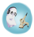 Blooky's Mimikyu by Cheeselotion