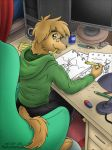 Commission: Workspace by Hakunaro