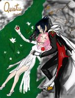 Quietus-sasusaku fan art by Brittany001