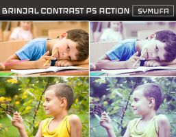 BRINJAL CONTRAST PHOTOSHOP ACTION 0021 by symufa