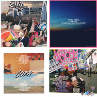 album covers by poplet
