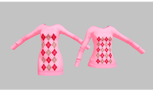 MMD Sweater Pack by amiamy111