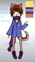 Custom for suemao by Spiral-Teardrop