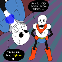 SANS GET OFF THE CEILING (Redraw) by IBB