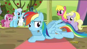 Scootaloo and Rainbow Dash won! (Gif) by CMC--Scootaloo