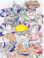Naruto group by ConkerTSquirrel