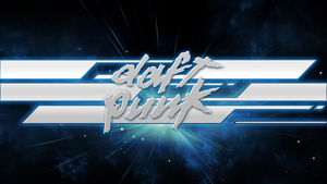 Daft Punk Logo Wallpaper by RDbrony16