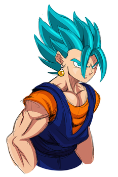 Vegito Blue by ss2sonic
