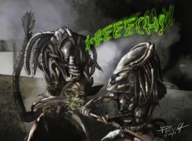 alien vs predator by vp021