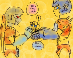 TF - OPxSS meet sparkling!Bumblebee by Cloud-Kitsune