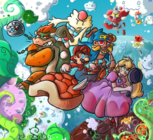 Super Mario RPG by Loopy-Lupe