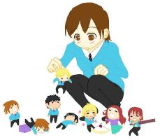 Ouran Chibis by Kibby47