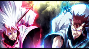 Naruto chapter 690 - Hamura and Hagoromo COLLAB by Kortrex