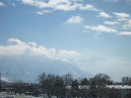 Wasatch Mountains by skadiblue