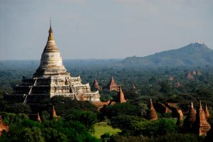 Myanmar - Temples Of Bagan by sevenths