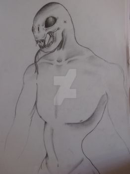 Crappy unfinished monster thing lol by Spacegirl711