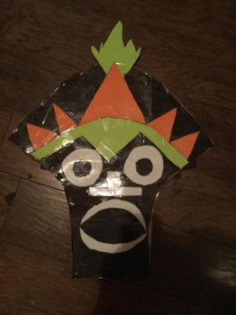 The Tiki Witch Doctor mask from Scooby Doo replica by Jonathan459