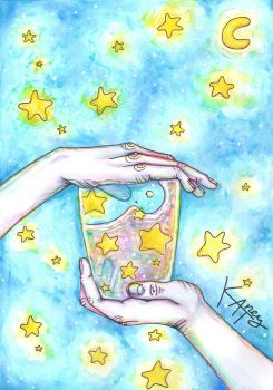 Catching the stars by Katney