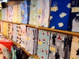 a colorful towel shop (4) by yukino-k