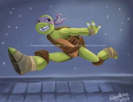 Donatello by OrangeBlueCream