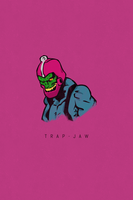 PosterVine Trap-Jaw Poster By Doryan Algarra by PosterVine