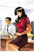 Lois and Clark after C.C. by RisingKirin
