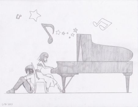 Piano at its Finest by vongolafamily2256