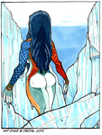 Daily Newf 86 - Arctic Goddess by d6016