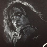 Bucky Barnes aka The Winter Soldier by PatrickRyant