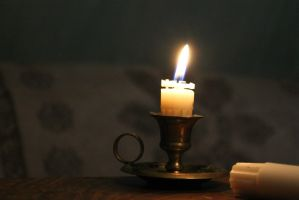Candle Halo light background by Arnild