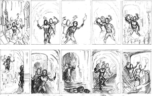 Thumbnails For Watercolor Painting by jbyrd117