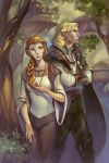 Solhar and Diriel by Alteya